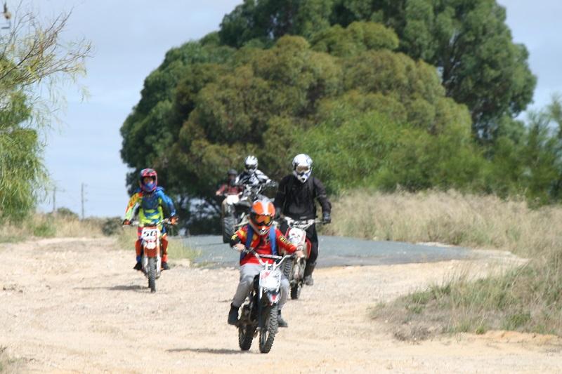 off road trail bike riders dodge traffic yanchep news online