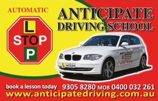 Anticipate Driving