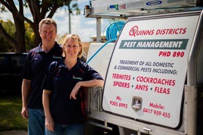 Quinns Districts Pest Management